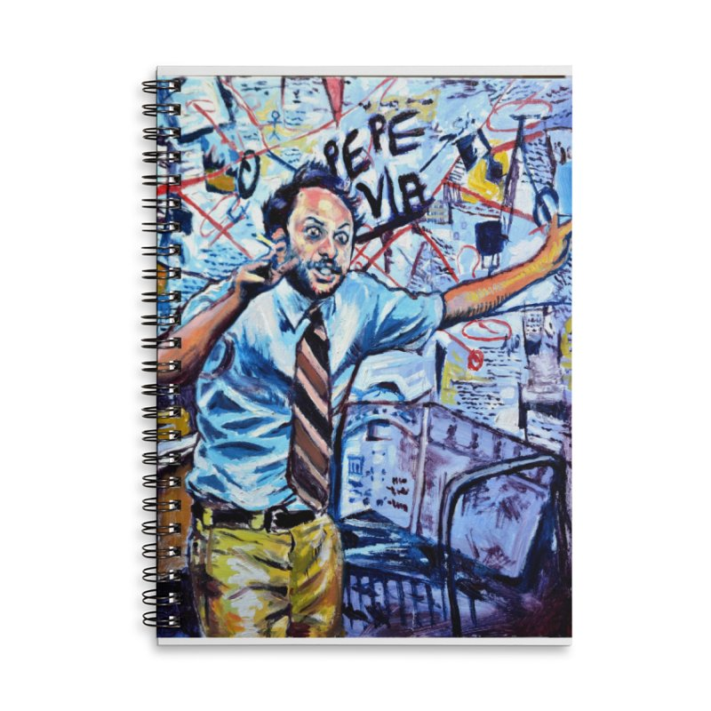 """boxes Accessories Notebook by Art Prints by Seamus Wray available under """"Home"""""""