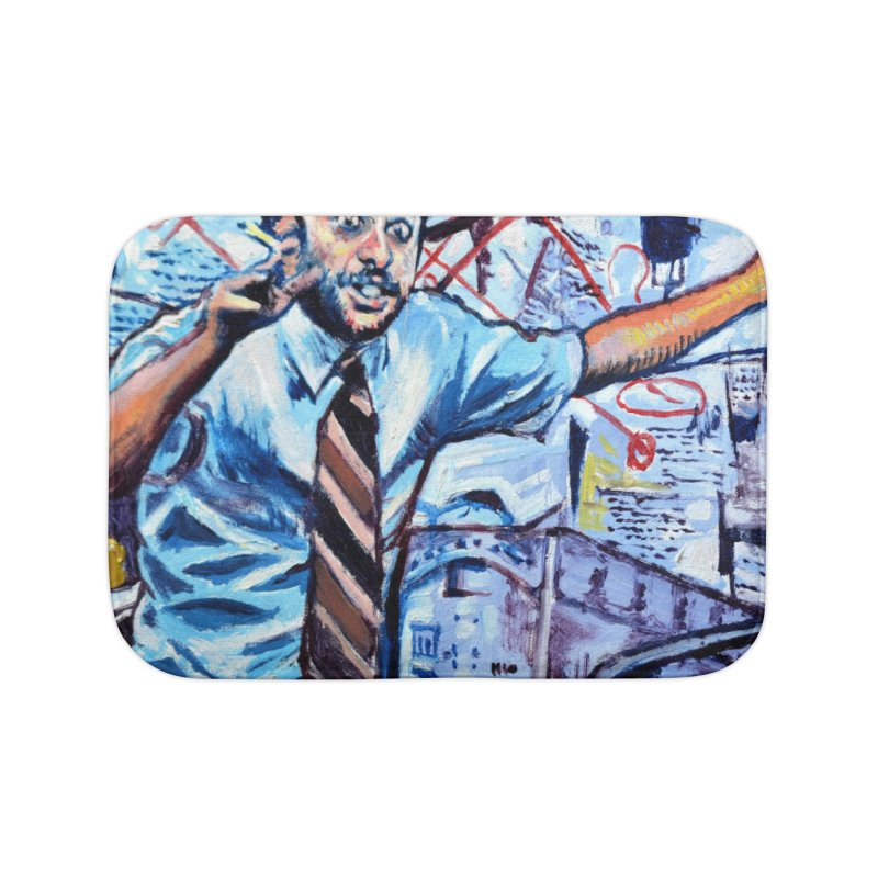 """boxes Home Bath Mat by Art Prints by Seamus Wray available under """"Home"""""""