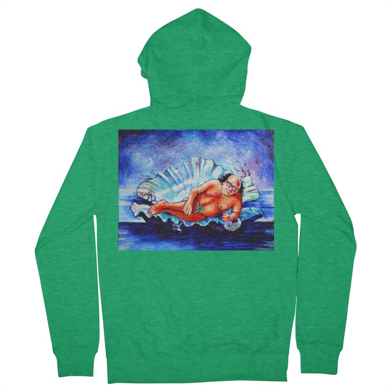 """DeVenus Women's Zip-Up Hoody by Art Prints by Seamus Wray available under """"Home"""""""