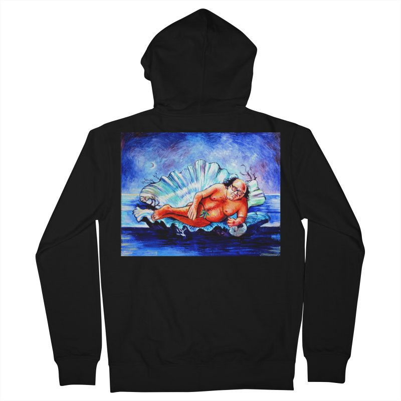"""DeVenus Men's Zip-Up Hoody by Art Prints by Seamus Wray available under """"Home"""""""