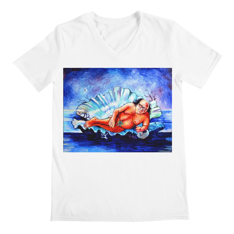 """DeVenus Men's V-Neck by Art Prints by Seamus Wray available under """"Home"""""""