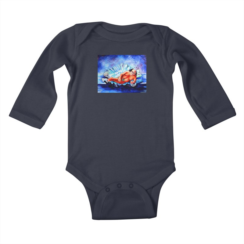 "DeVenus Kids Baby Longsleeve Bodysuit by Art Prints by Seamus Wray available under ""Home"""