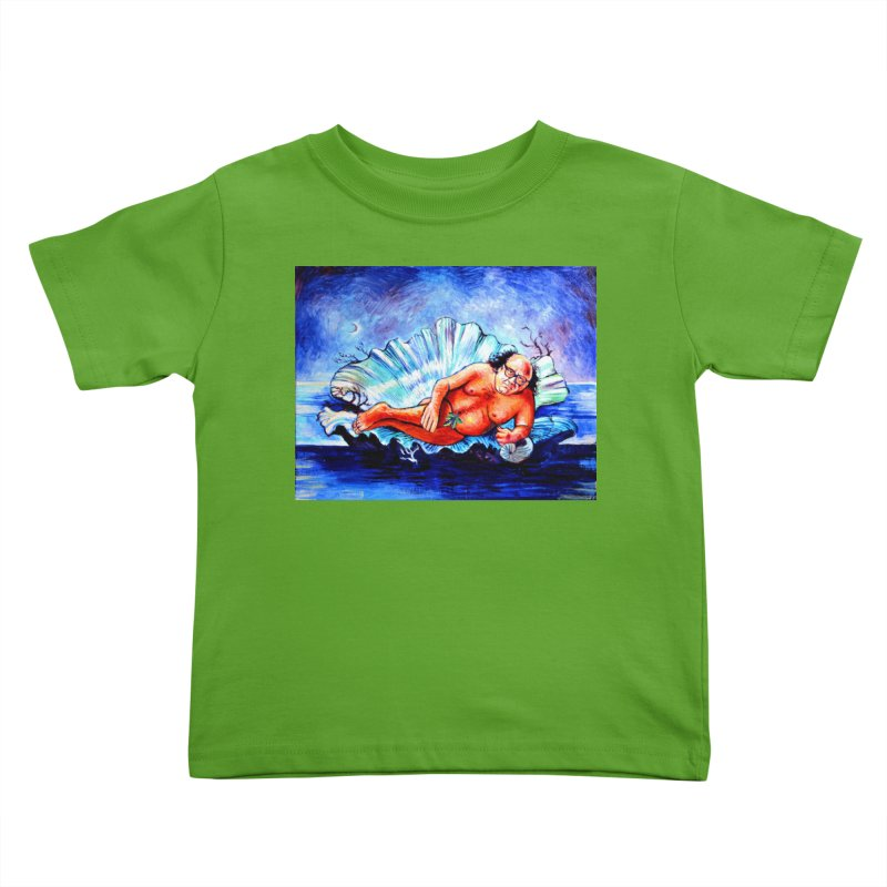 """DeVenus Kids Toddler T-Shirt by Art Prints by Seamus Wray available under """"Home"""""""