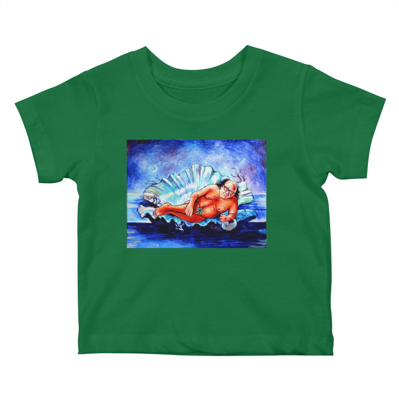 """DeVenus Kids Baby T-Shirt by Art Prints by Seamus Wray available under """"Home"""""""