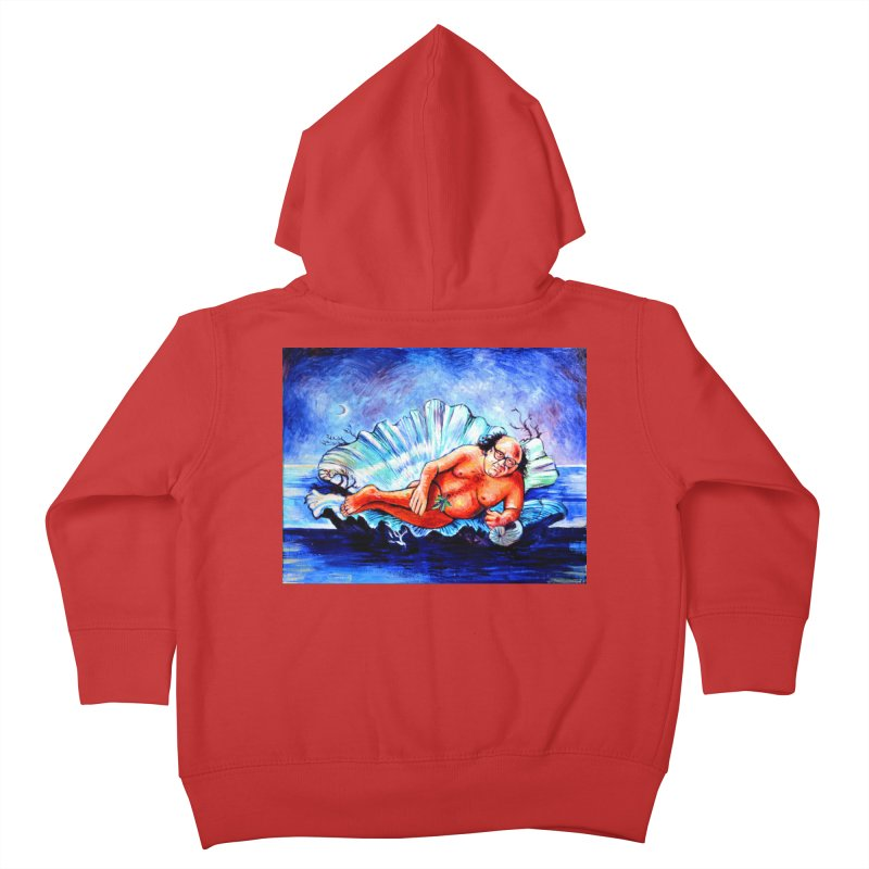 """DeVenus Kids Toddler Zip-Up Hoody by Art Prints by Seamus Wray available under """"Home"""""""