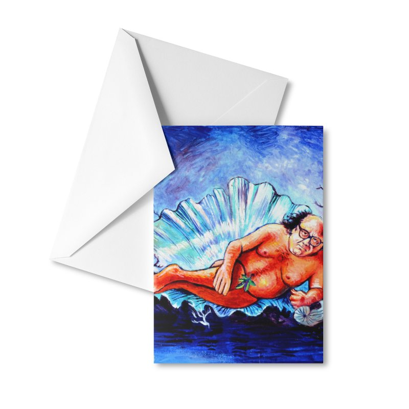 """DeVenus Accessories Greeting Card by Art Prints by Seamus Wray available under """"Home"""""""