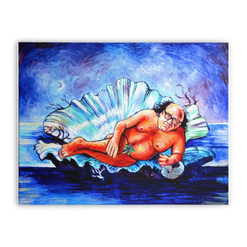 """DeVenus Home Stretched Canvas by Art Prints by Seamus Wray available under """"Home"""""""
