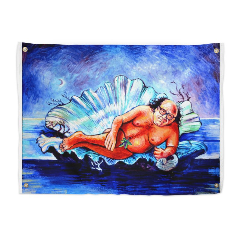 """DeVenus Home Tapestry by Art Prints by Seamus Wray available under """"Home"""""""