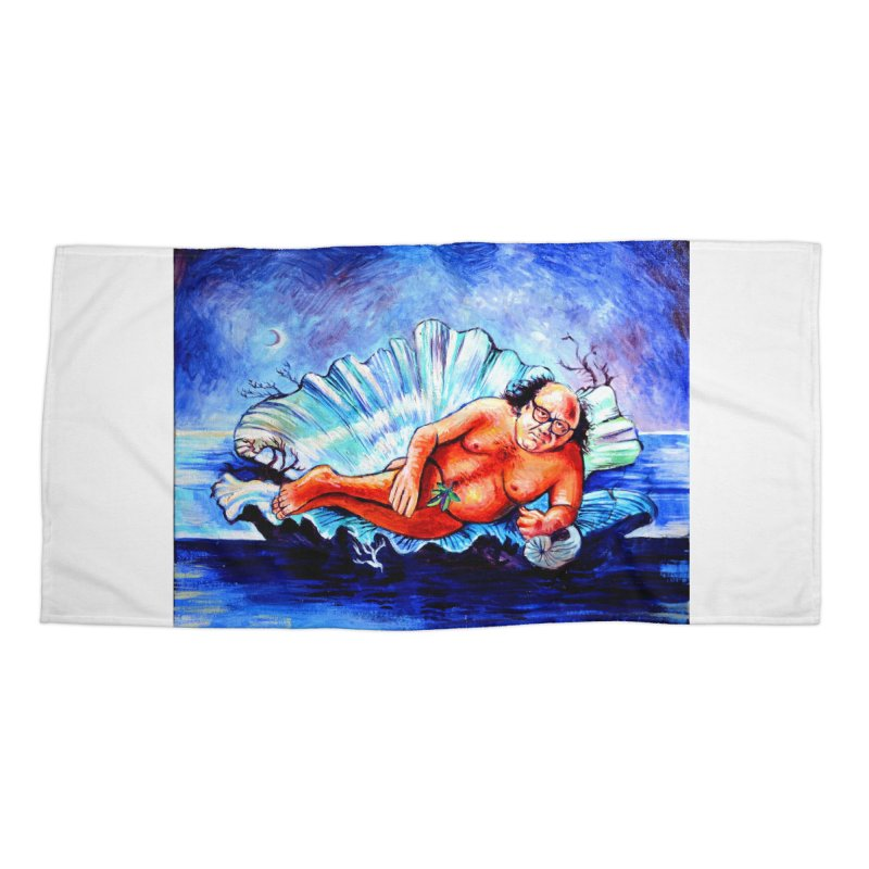 """DeVenus Accessories Beach Towel by Art Prints by Seamus Wray available under """"Home"""""""