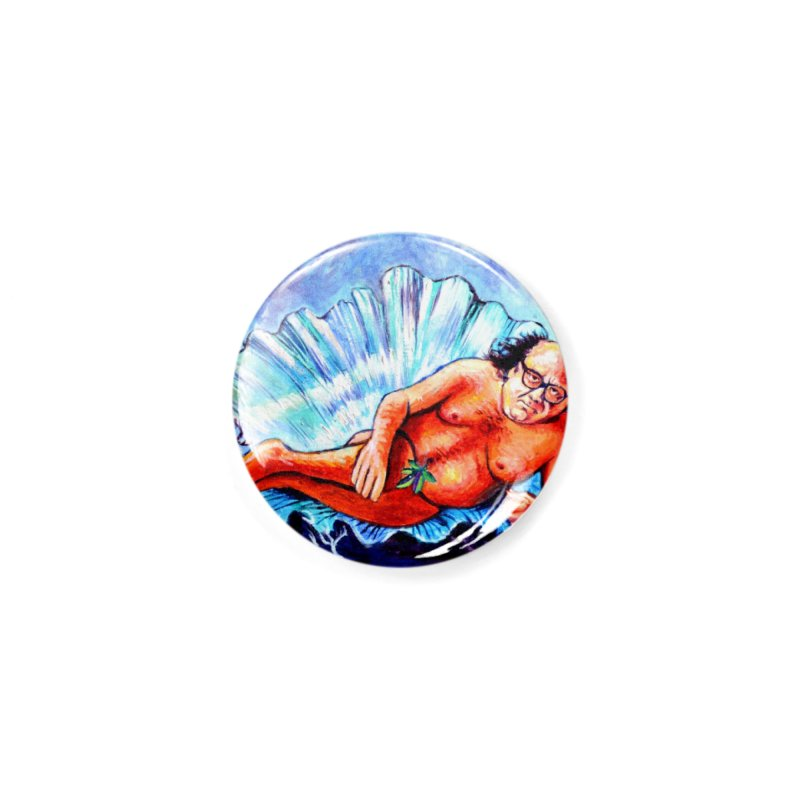 """DeVenus Accessories Button by Art Prints by Seamus Wray available under """"Home"""""""