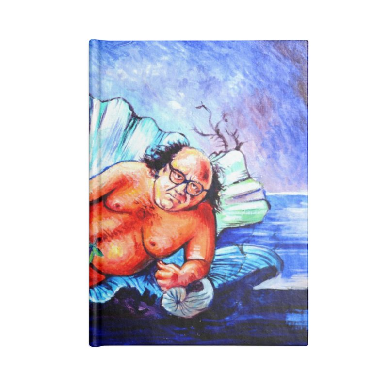 """DeVenus Accessories Notebook by Art Prints by Seamus Wray available under """"Home"""""""