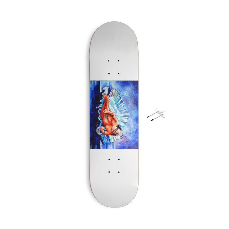 """DeVenus Accessories Skateboard by Art Prints by Seamus Wray available under """"Home"""""""
