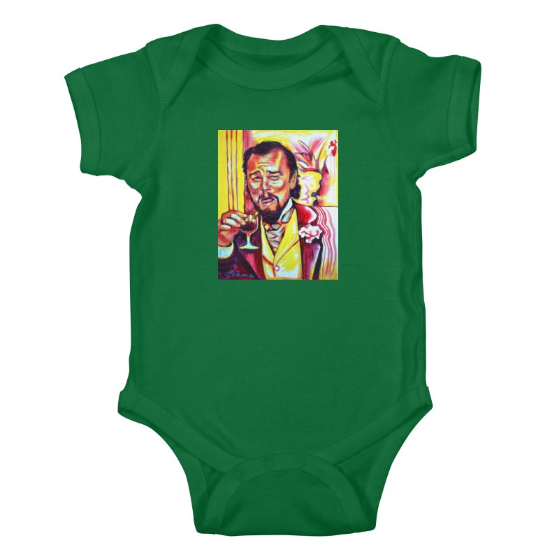 """leomeme Kids Baby Bodysuit by Art Prints by Seamus Wray available under """"Home"""""""
