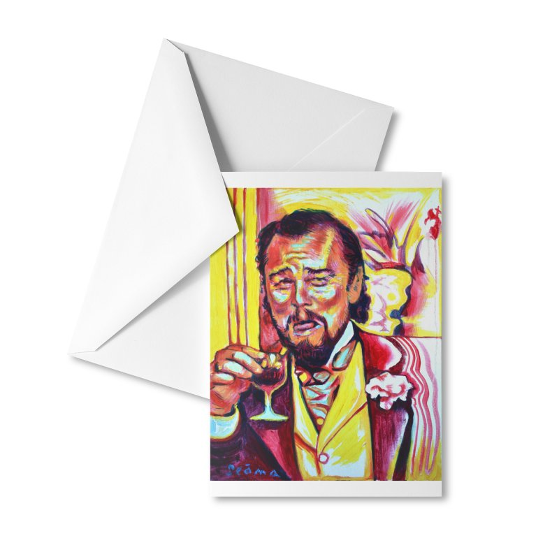 """leomeme Accessories Greeting Card by Art Prints by Seamus Wray available under """"Home"""""""
