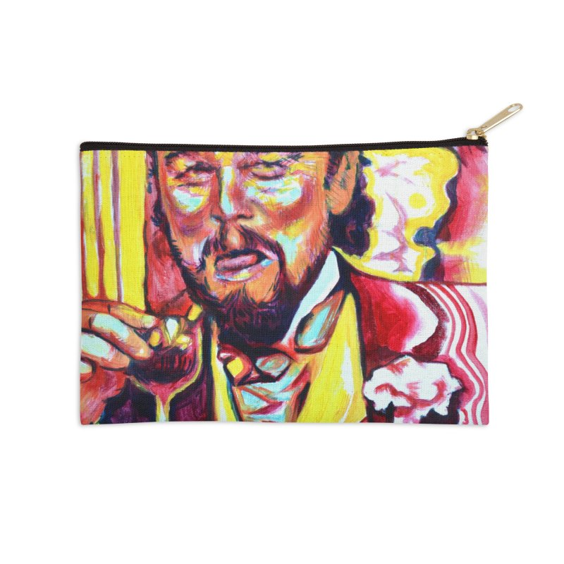 """leomeme Accessories Zip Pouch by Art Prints by Seamus Wray available under """"Home"""""""