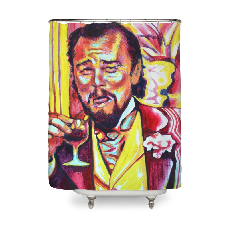 """leomeme Home Shower Curtain by Art Prints by Seamus Wray available under """"Home"""""""