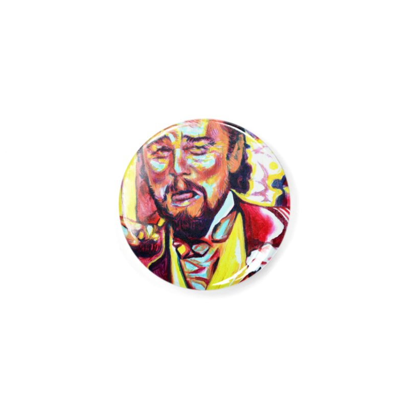 """leomeme Accessories Button by Art Prints by Seamus Wray available under """"Home"""""""
