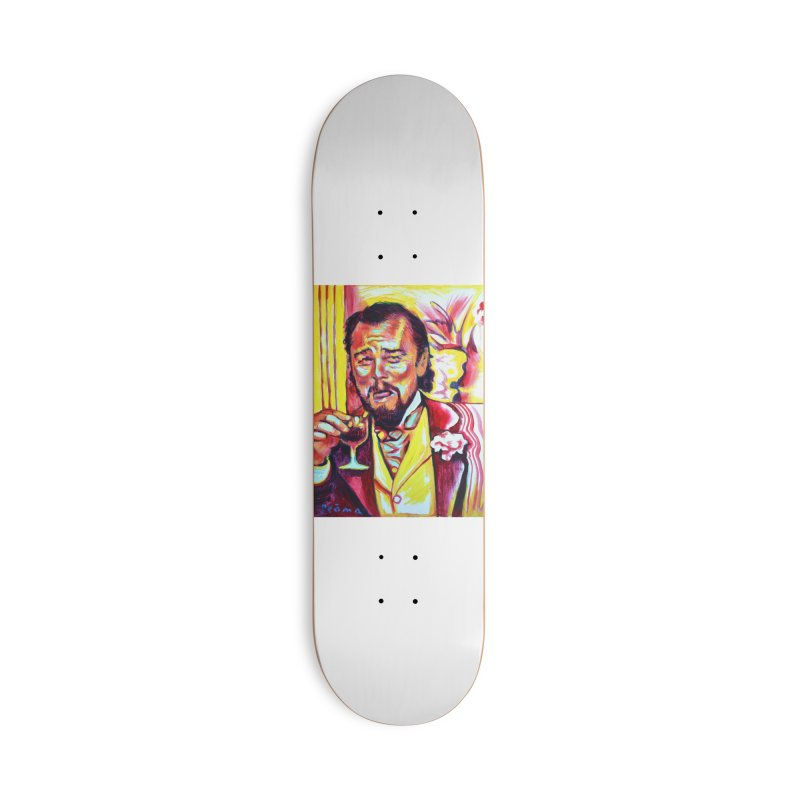 """leomeme Accessories Skateboard by Art Prints by Seamus Wray available under """"Home"""""""