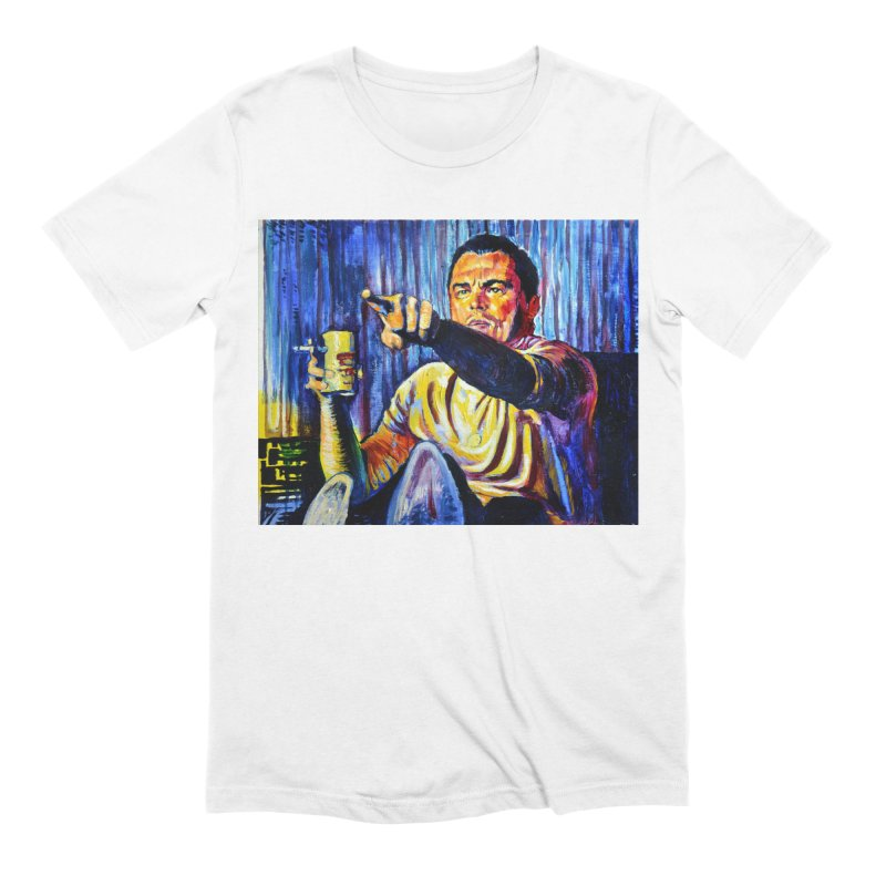 """pointing Men's T-Shirt by Art Prints by Seamus Wray available under """"Home"""""""