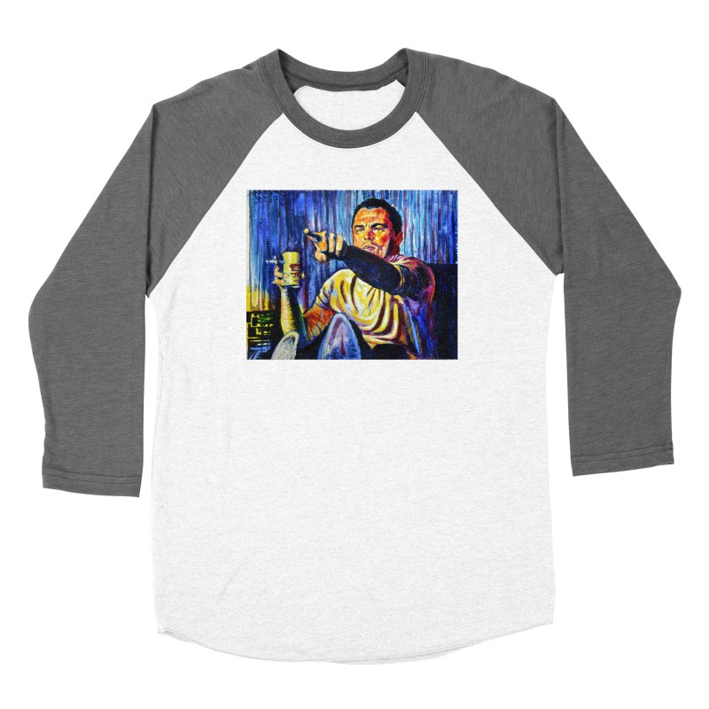 """pointing Women's Longsleeve T-Shirt by Art Prints by Seamus Wray available under """"Home"""""""