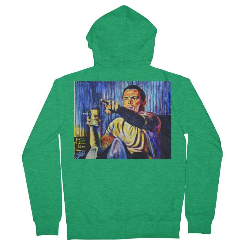 """pointing Women's Zip-Up Hoody by Art Prints by Seamus Wray available under """"Home"""""""
