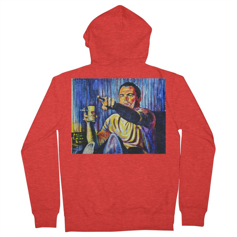"""pointing Men's Zip-Up Hoody by Art Prints by Seamus Wray available under """"Home"""""""