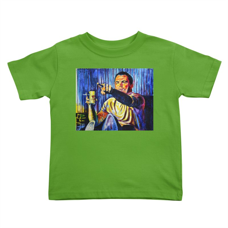 """pointing Kids Toddler T-Shirt by Art Prints by Seamus Wray available under """"Home"""""""