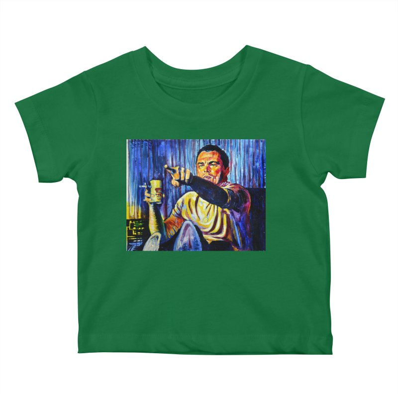 """pointing Kids Baby T-Shirt by Art Prints by Seamus Wray available under """"Home"""""""
