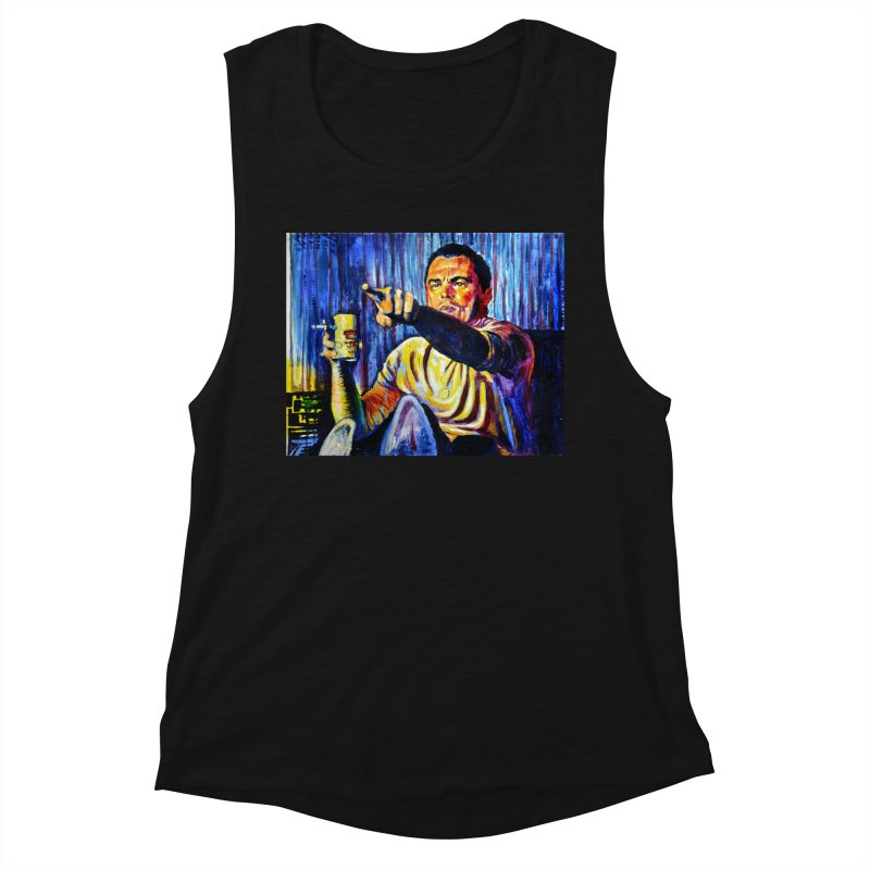 """pointing Women's Tank by Art Prints by Seamus Wray available under """"Home"""""""