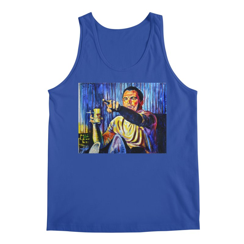 """pointing Men's Tank by Art Prints by Seamus Wray available under """"Home"""""""
