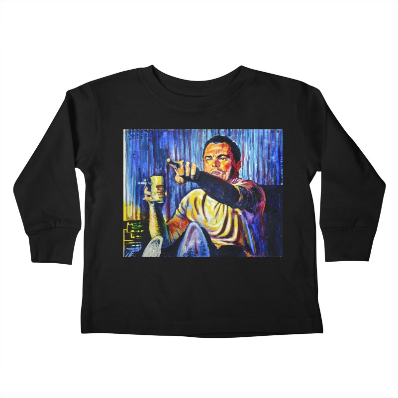 """pointing Kids Toddler Longsleeve T-Shirt by Art Prints by Seamus Wray available under """"Home"""""""