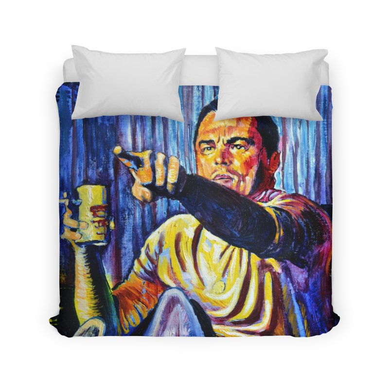 """pointing Home Duvet by Art Prints by Seamus Wray available under """"Home"""""""
