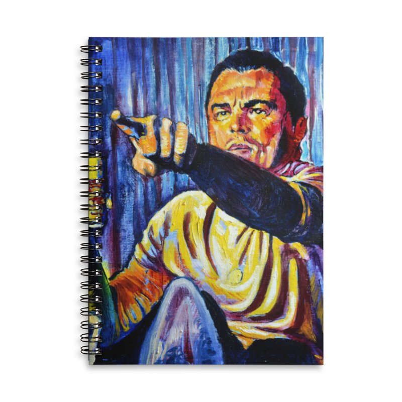 """pointing Accessories Notebook by Art Prints by Seamus Wray available under """"Home"""""""