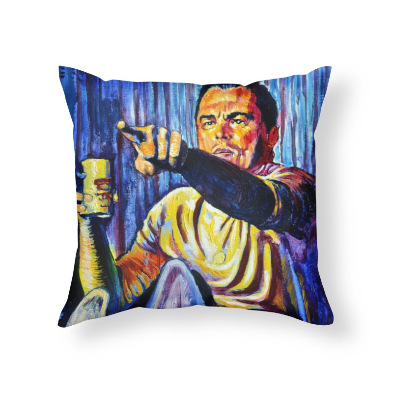 """pointing Home Throw Pillow by Art Prints by Seamus Wray available under """"Home"""""""