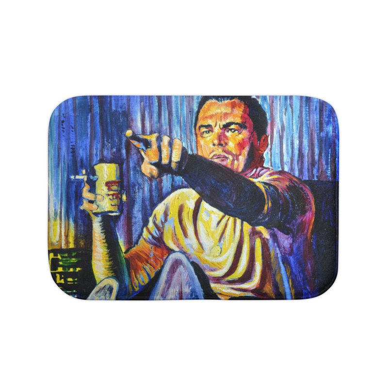 """pointing Home Bath Mat by Art Prints by Seamus Wray available under """"Home"""""""
