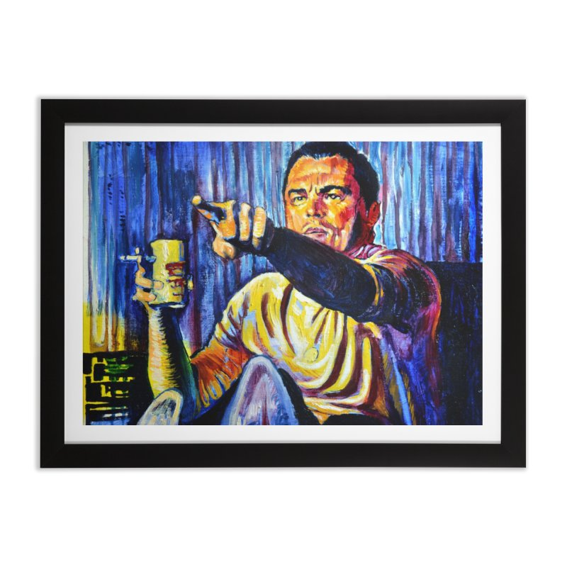 """pointing Home Framed Fine Art Print by Art Prints by Seamus Wray available under """"Home"""""""