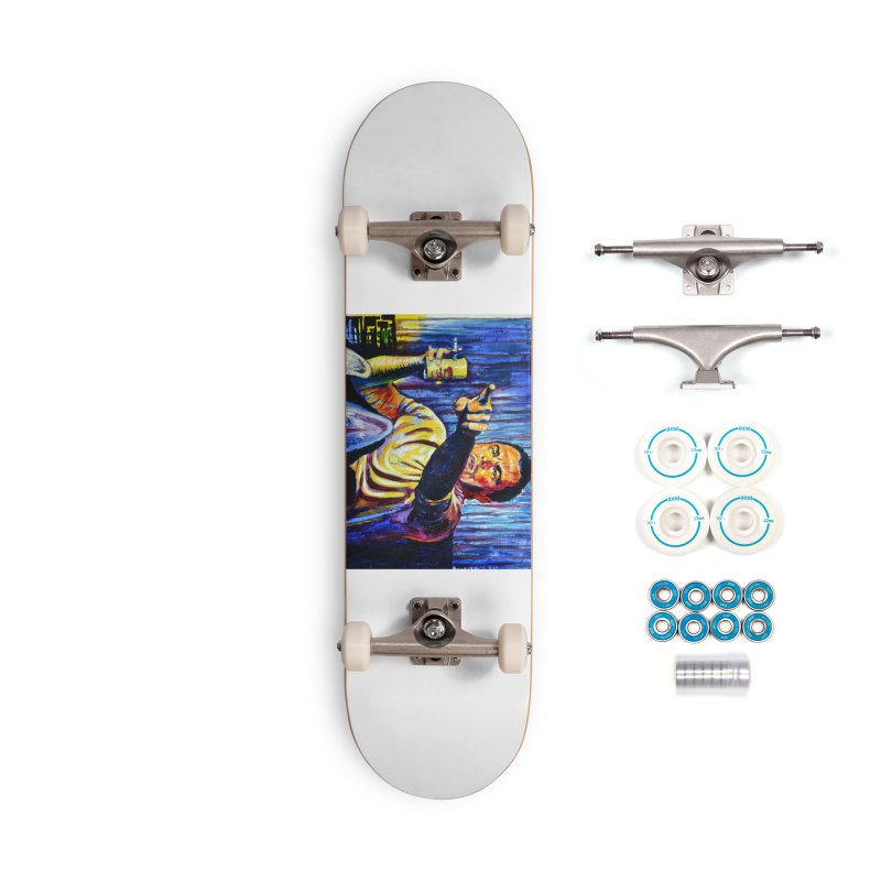 """pointing Accessories Skateboard by Art Prints by Seamus Wray available under """"Home"""""""