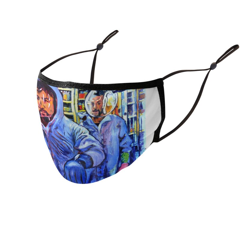 """breach Accessories Face Mask by Art Prints by Seamus Wray available under """"Home"""""""