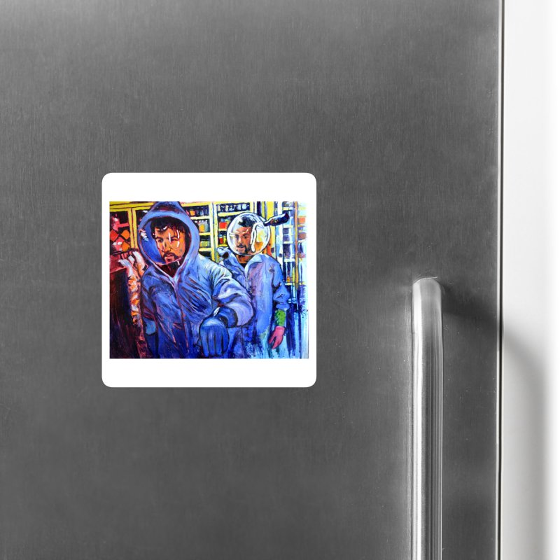 """breach Accessories Magnet by Art Prints by Seamus Wray available under """"Home"""""""