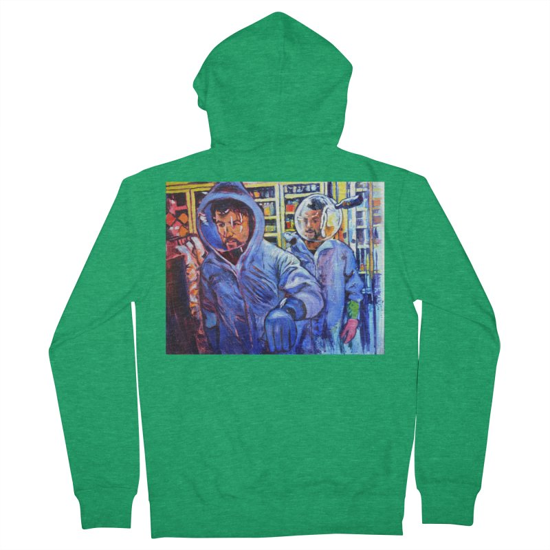 "breach Men's Zip-Up Hoody by Art Prints by Seamus Wray available under ""Home"""