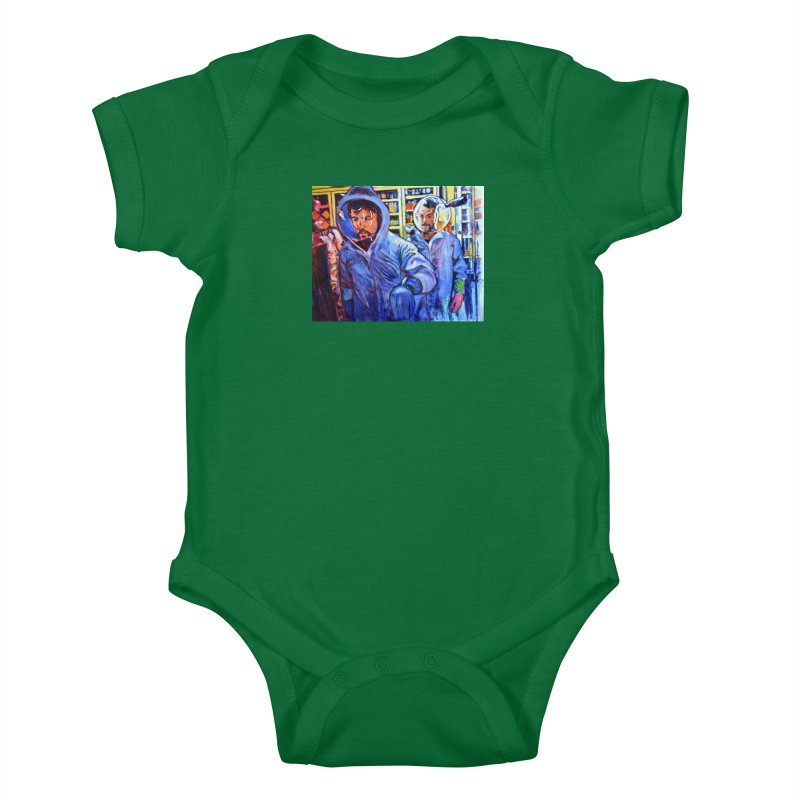 """breach Kids Baby Bodysuit by Art Prints by Seamus Wray available under """"Home"""""""