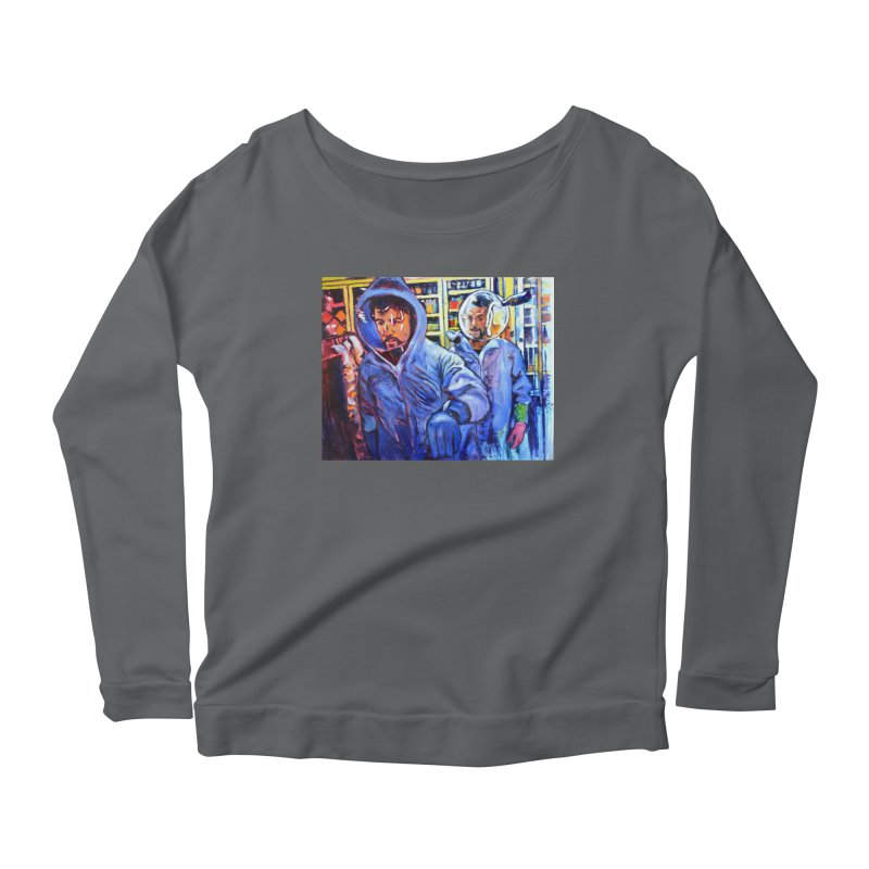 """breach Women's Longsleeve T-Shirt by Art Prints by Seamus Wray available under """"Home"""""""