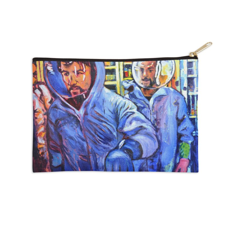 """breach Accessories Zip Pouch by Art Prints by Seamus Wray available under """"Home"""""""