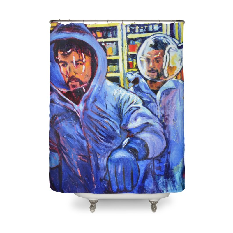 """breach Home Shower Curtain by Art Prints by Seamus Wray available under """"Home"""""""