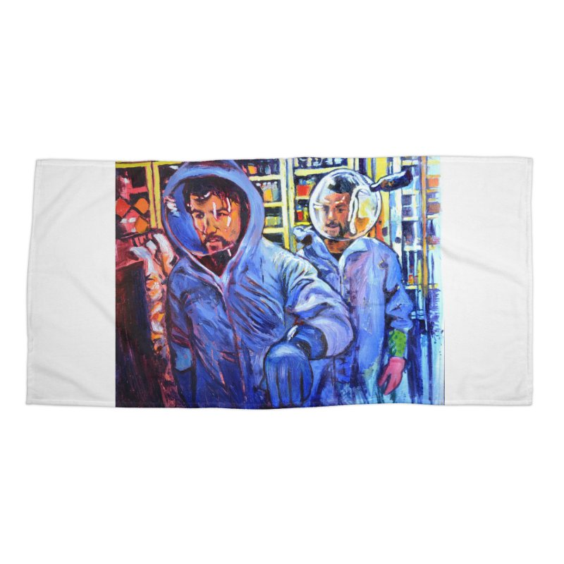 """breach Accessories Beach Towel by Art Prints by Seamus Wray available under """"Home"""""""