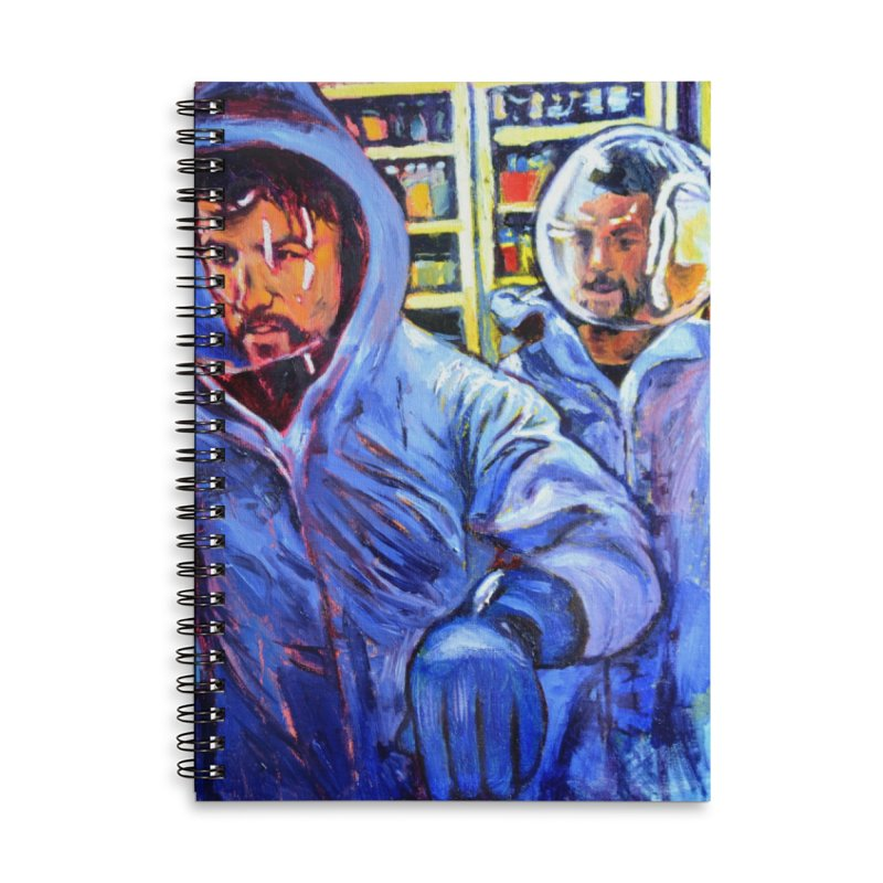 """breach Accessories Notebook by Art Prints by Seamus Wray available under """"Home"""""""