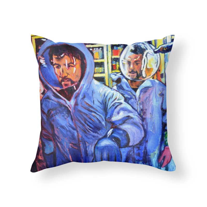 """breach Home Throw Pillow by Art Prints by Seamus Wray available under """"Home"""""""