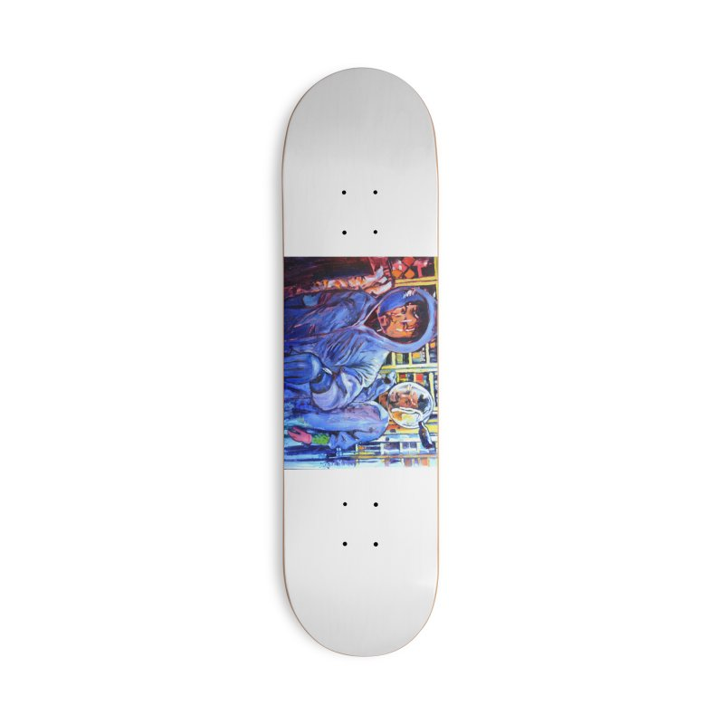 """breach Accessories Skateboard by Art Prints by Seamus Wray available under """"Home"""""""