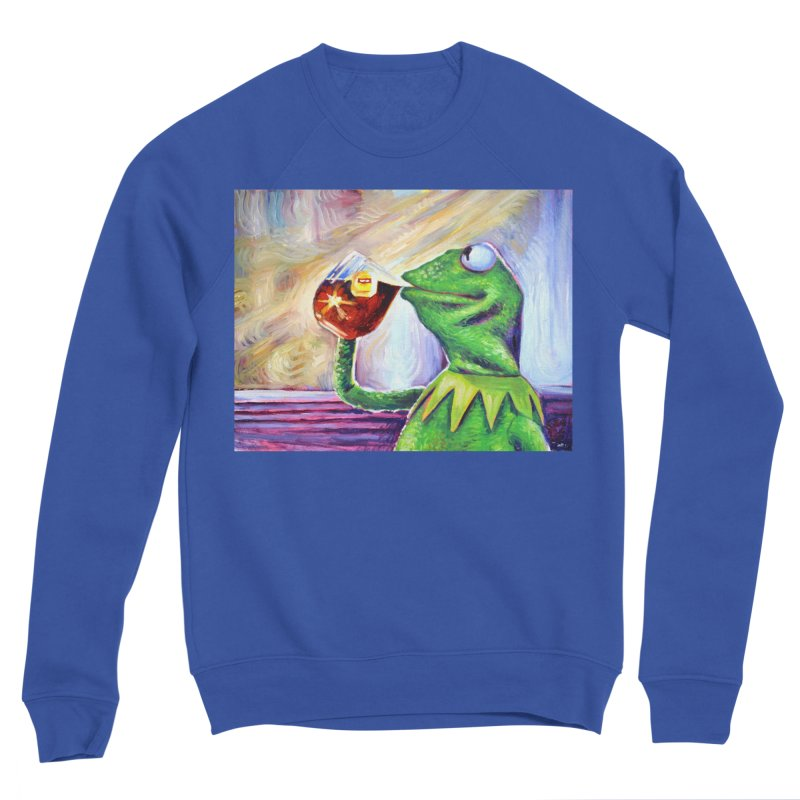 """tea Men's Sweatshirt by Art Prints by Seamus Wray available under """"Home"""""""
