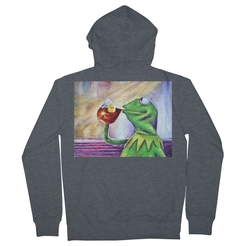 """tea Men's Zip-Up Hoody by Art Prints by Seamus Wray available under """"Home"""""""
